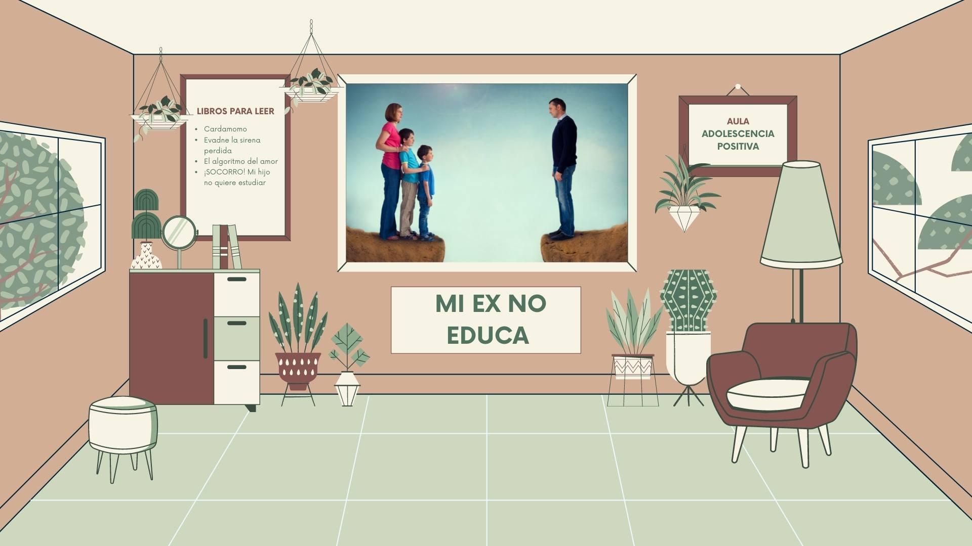 Cómo resolver los conflictos con tu ex por la educación de tus hijos